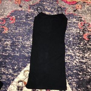 Yahada Black Long Cami